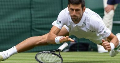 wimbledon:-djokovic,-kyrgios-survive-slippery-courts-to-win-the-day