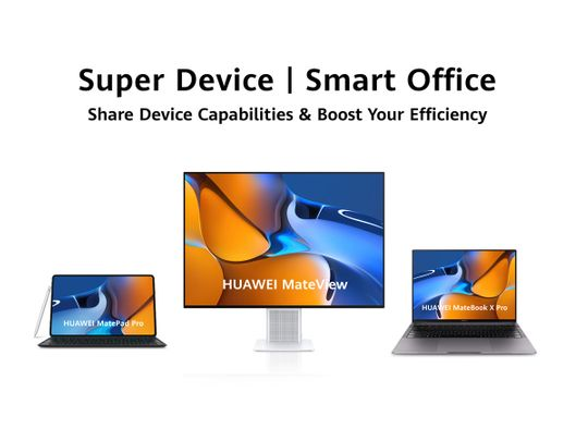chinese-smartphone-giant-huawei-deploys-'super-device'-experience-in-uae