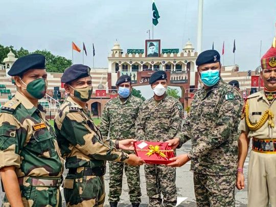 india,-pakistan-exchange-sweets-on-eid-al-adha-first-time-since-2019