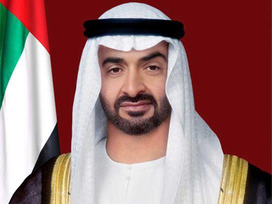 mohamed-bin-zayed-receives-phone-call-from-israeli-prime-minister-naftali-bennett