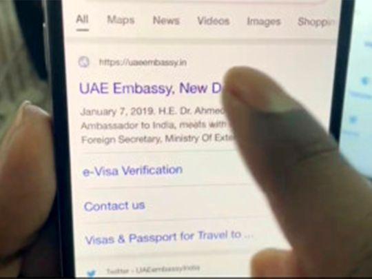 fake-website-of-uae-embassy-in-india-blocked
