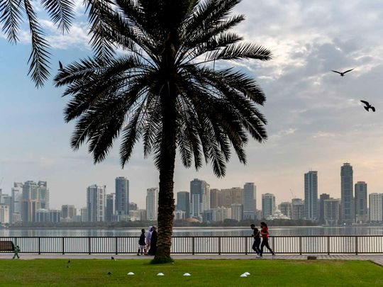 uae-weather:-hazy-and-partly-cloudy-in-abu-dhabi,-dubai-and-sharjah,-temperatures-to-hit-50-°c