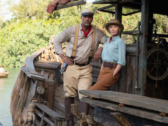 hollywood:-dwayne-johnson-and-emily-blunt's-new-movie-'jungle-cruise'-brings-back-old-school-adventure